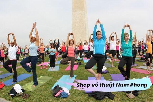 thảm tập yoga cao su non