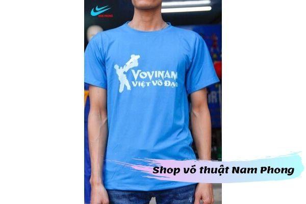 áo thun vovinam Việt võ đạo