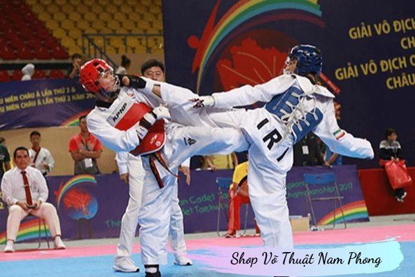 Đồ tập võ Taekwondo