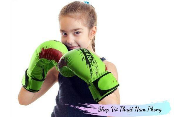 Găng tay tập boxing trẻ em