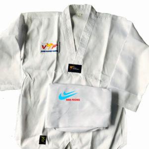 võ phục taekwondo phong trào