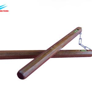 côn nhị khúc 8 cạnh gỗ tràm