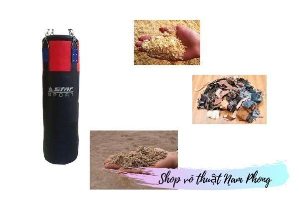 Cách nhồi ruột vỏ bao cát