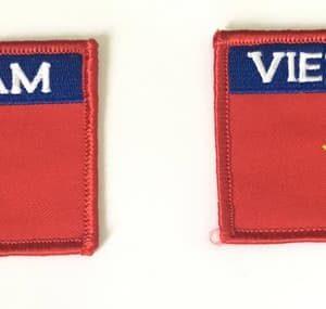 Cờ thêu Việt Nam